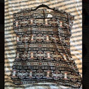 Shirt Blouse Aztec Print